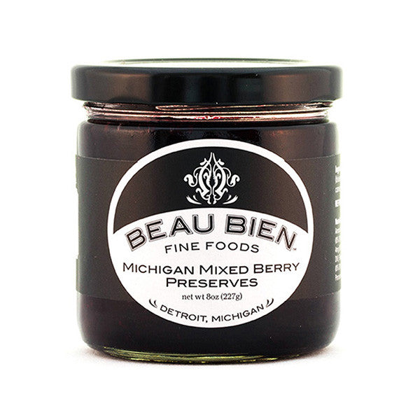 Beau Bien Fine Foods' Michigan Mixes Berry Preserves - City Bird