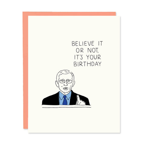 Dr Fauci Birthday Card