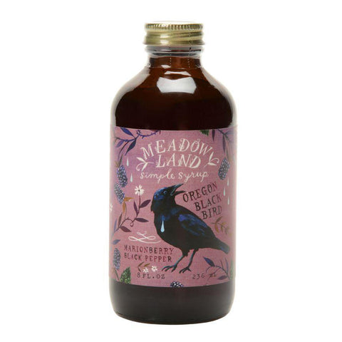 Oregon Blackbird Simple Syrup