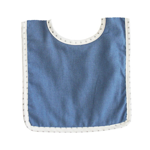 Bobby Bib Chambray Linen - City Bird