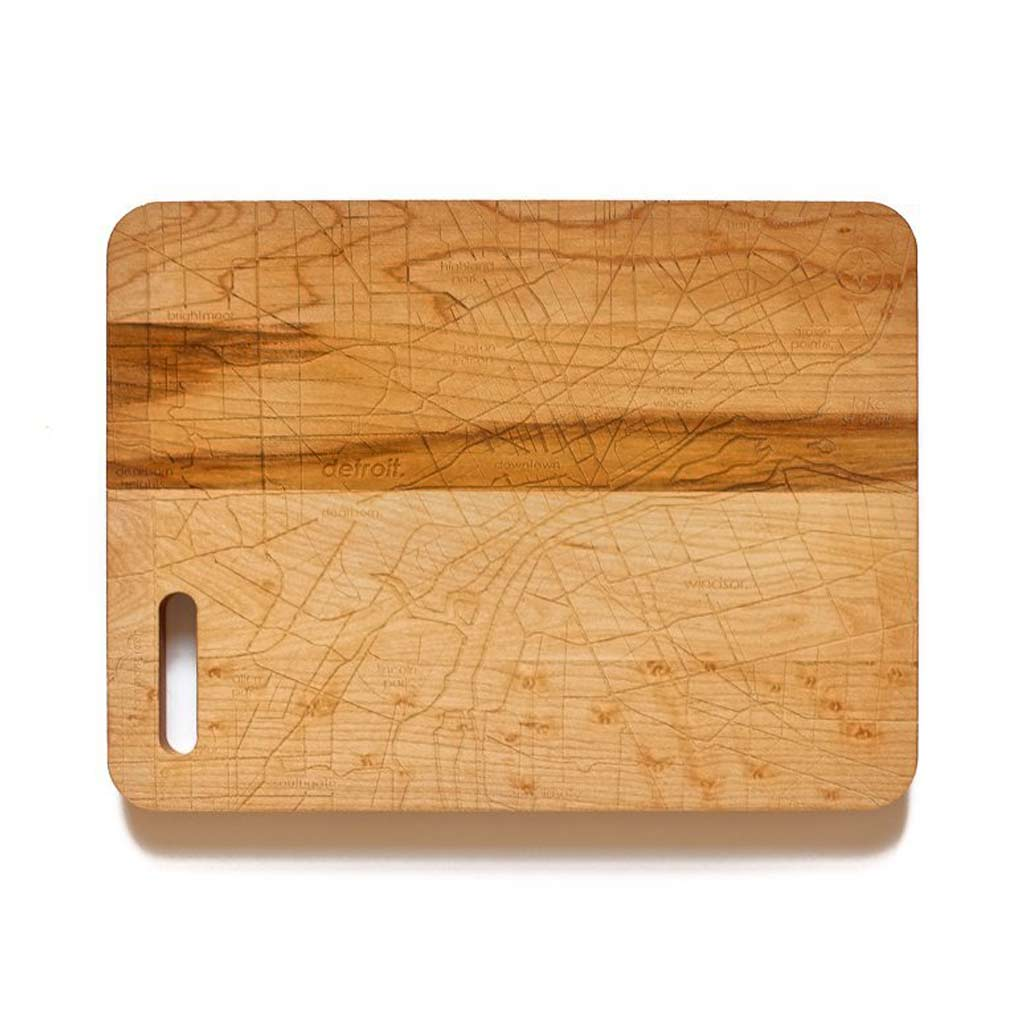 Detroit Maple Bar Prep & Cutting Board