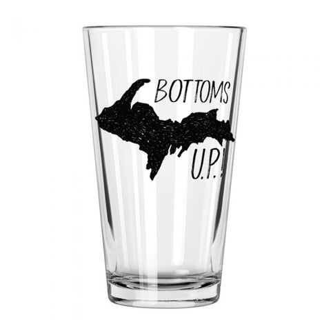 Bottoms U.P.! Pint Glass