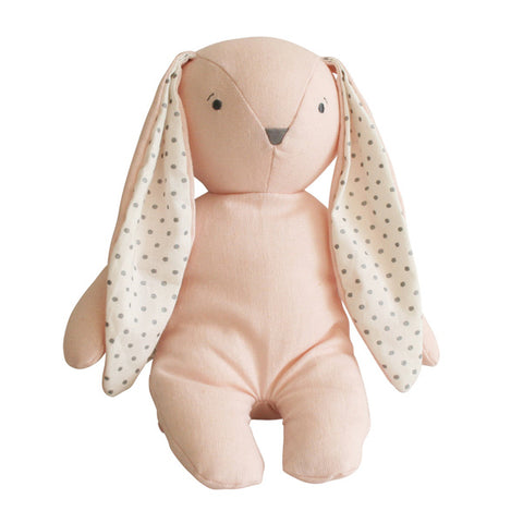 Bobby Floppy Bunny Pink Linen - City Bird