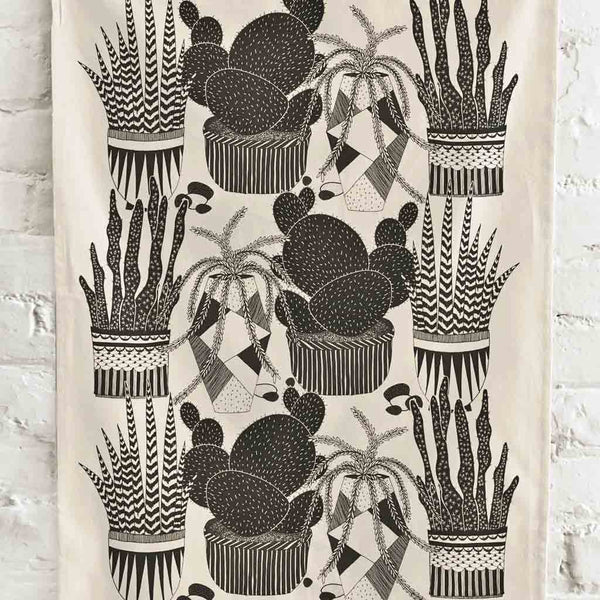 Cacti Towel - City Bird