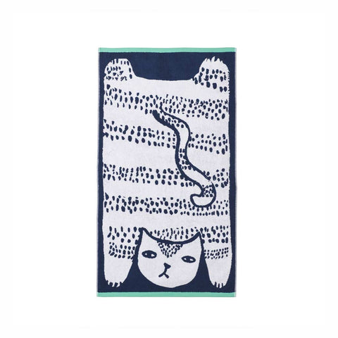Cat Hand Towels - City Bird