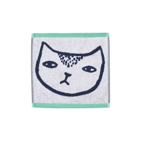 Cat Face Towel - City Bird