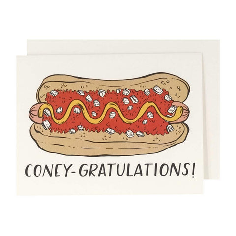 Coney-gratulations! Letterpress Card - City Bird