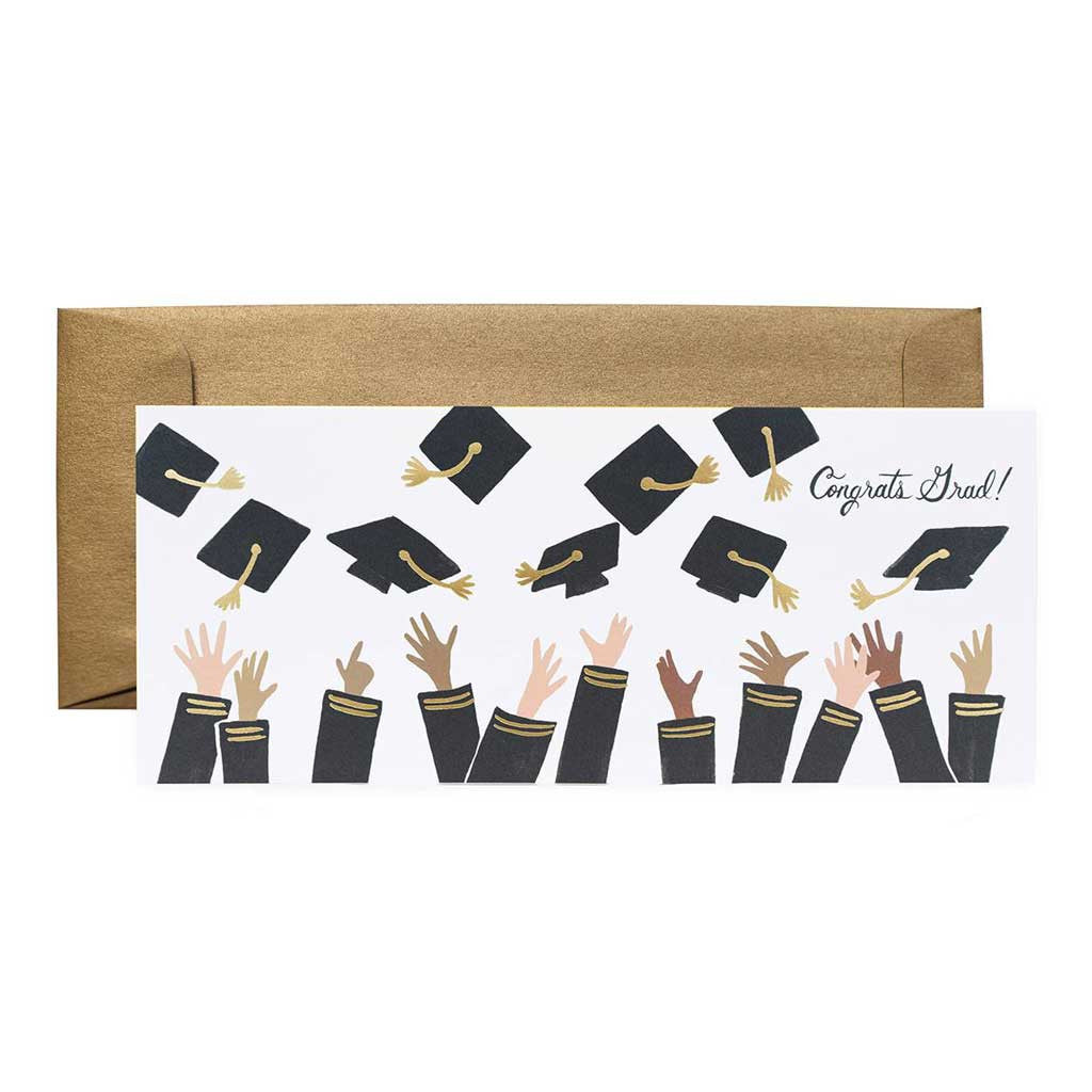 Congrats Grad! Card - City Bird