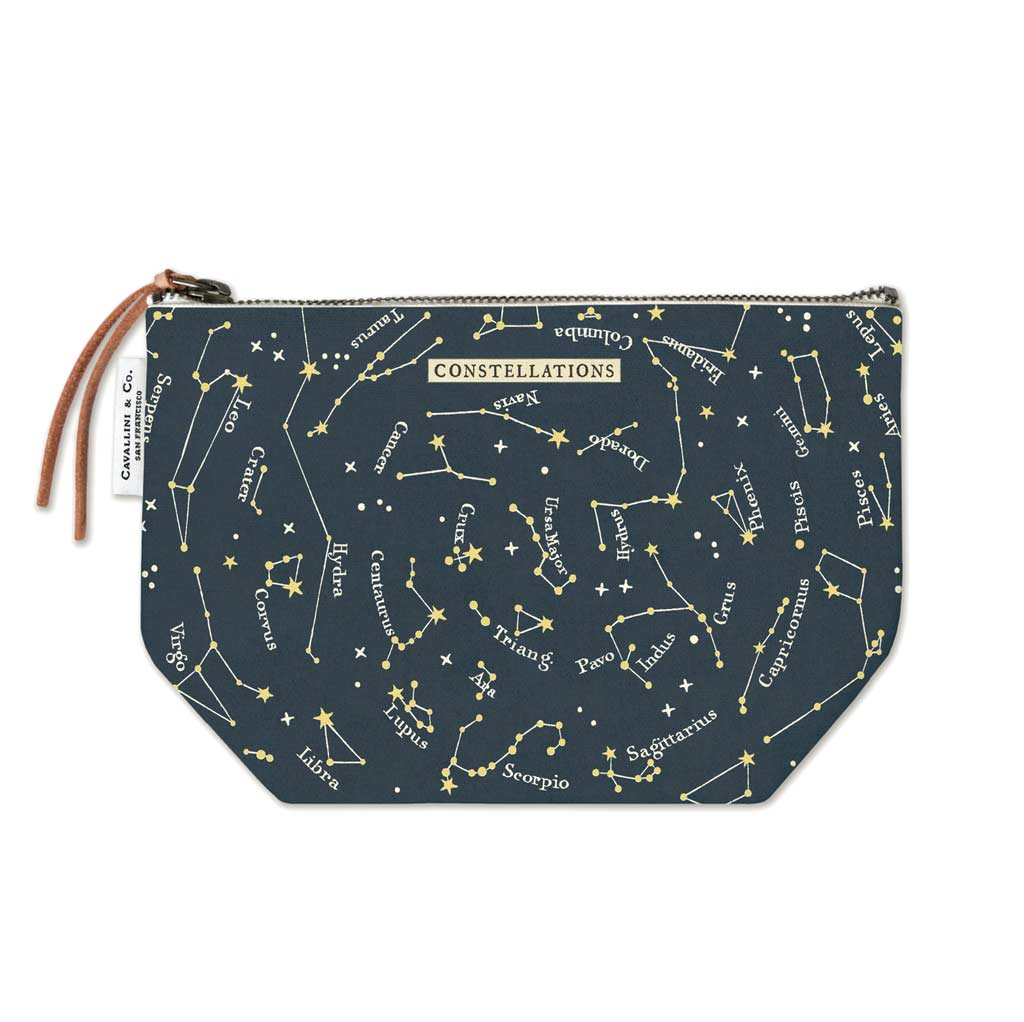 Celestial Vintage Pouch - City Bird