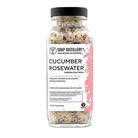Cucumber Rose - Mineral Salt Soak - City Bird