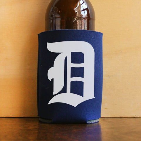 "Old English ""D"" Koozie"