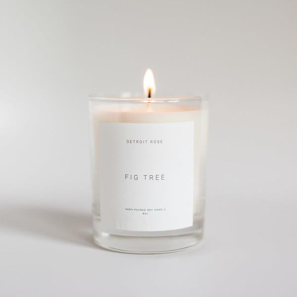 Detroit Rose Soy Candle - City Bird