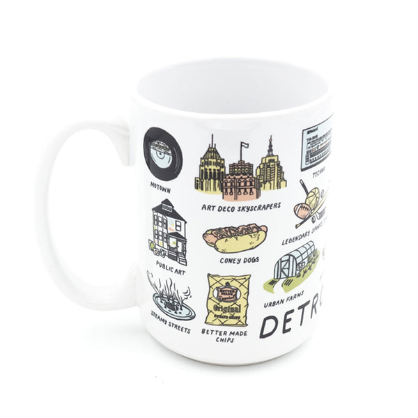 Detroit Things Mug - City Bird
