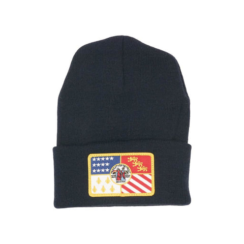Detroit Flag Patch Knit Beanie - City Bird