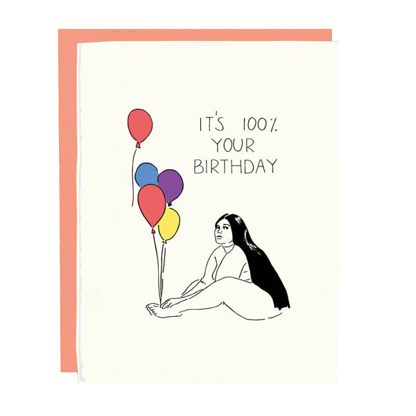 Lizzo Birthday Card - City Bird