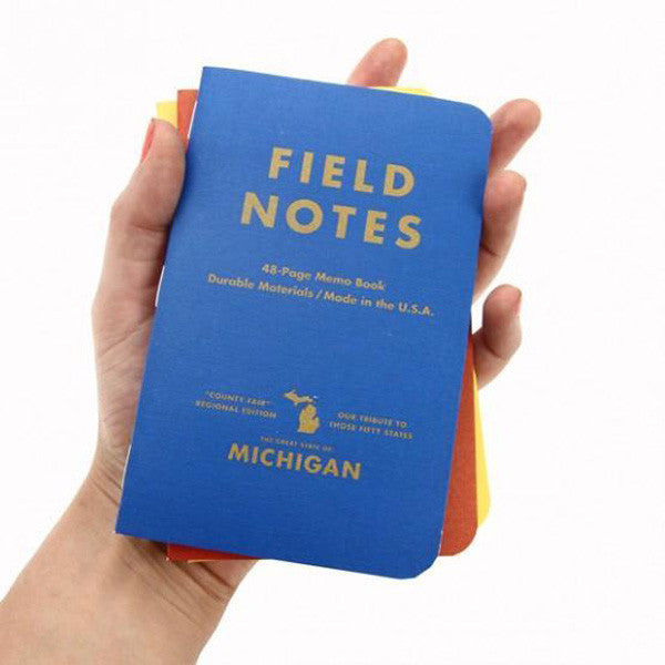 Michigan County Fair Notebooks by Field Notes - City Bird