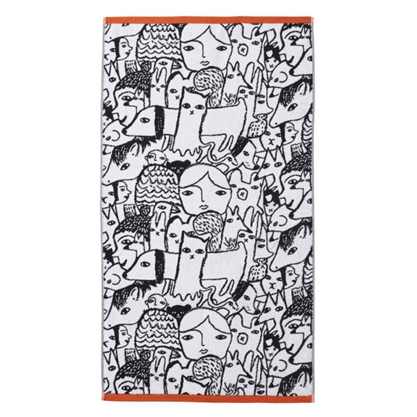 Folk Bath Towel