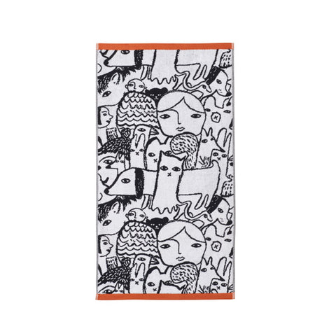 Folk Hand Towel