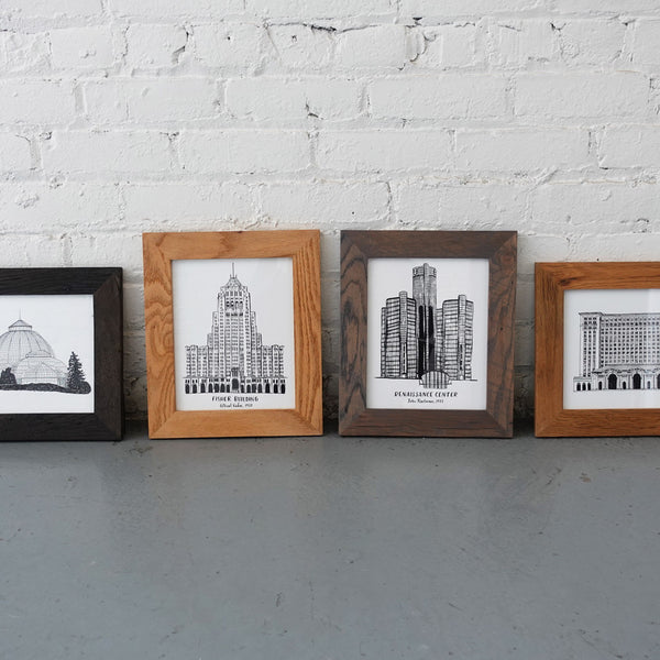 Ambassador Bridge Giclée Print - City Bird