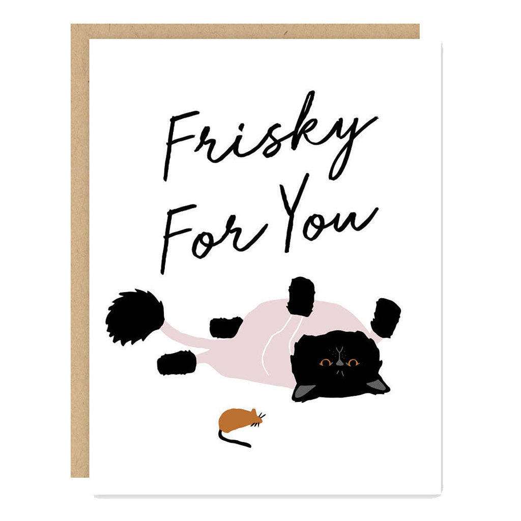 Frisky For You Card - City Bird