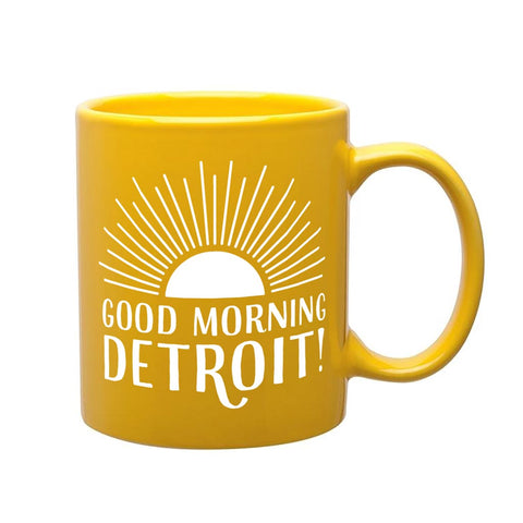 Good Morning Detroit Mug