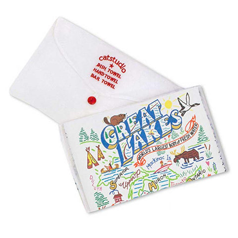 Great Lakes Dish Towel - City Bird