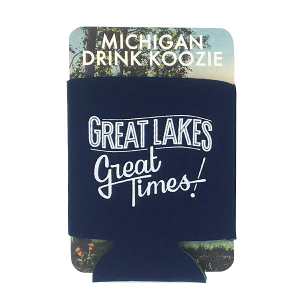 Great Lakes Great Times Drink Koozie