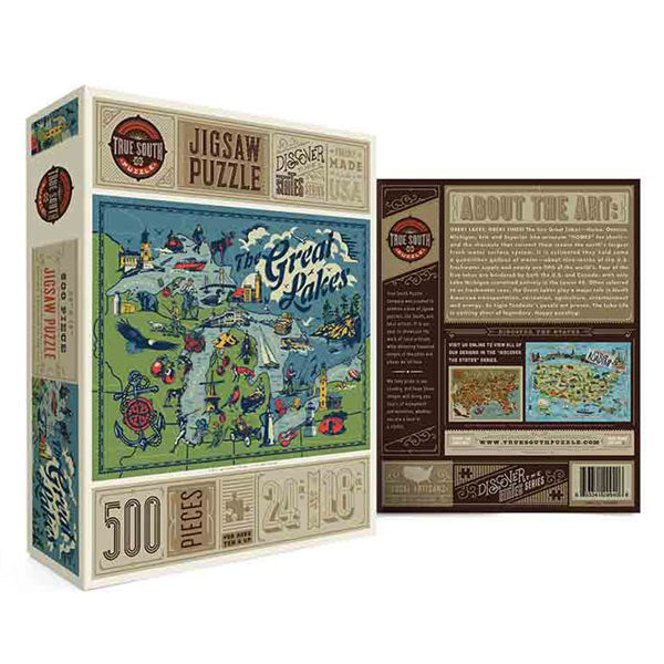 Great Lakes Puzzle - City Bird