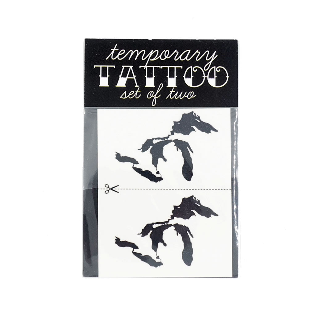 Great Lakes Temporary Tattoos - City Bird
