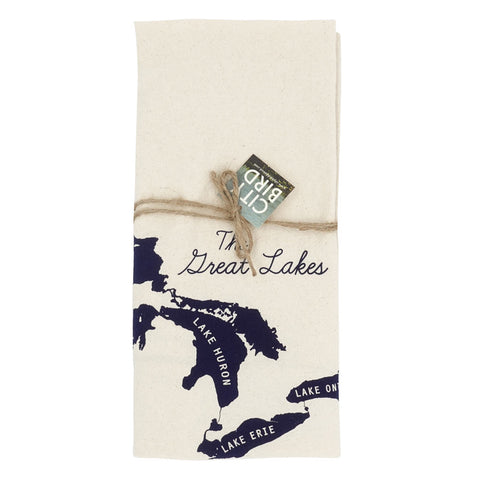 Great Lakes Tea Towel - City Bird