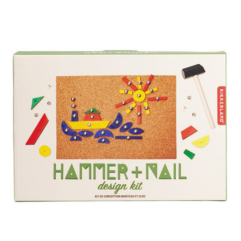 Hammer and Nail Design Kit - City Bird