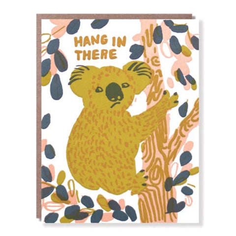 Hang in There Koala - City Bird