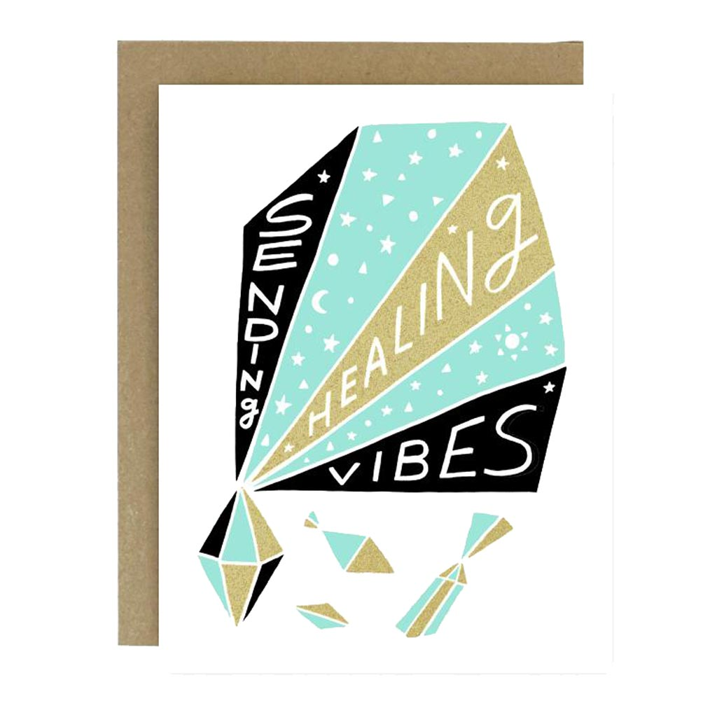 Healing Vibes Card - City Bird