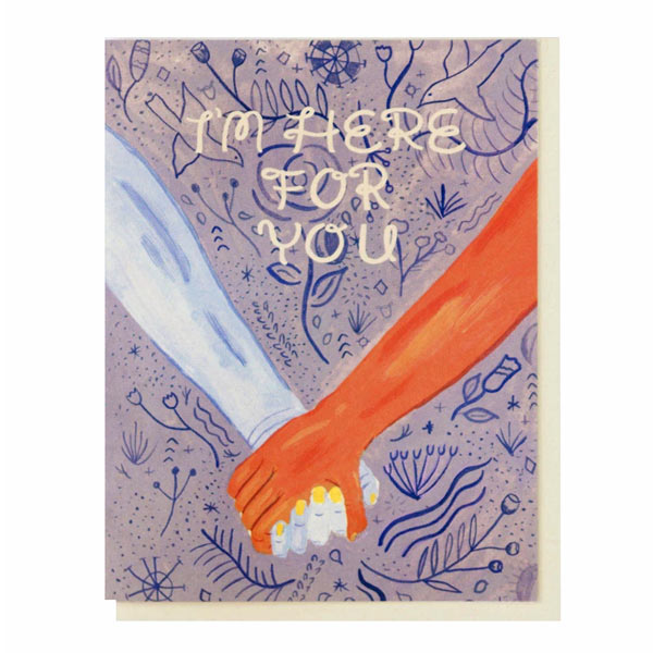 Here For You Card - City Bird