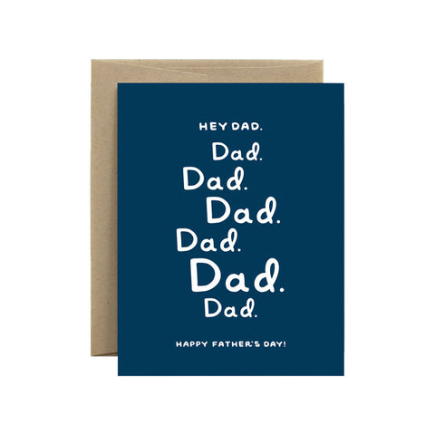 Hey Dad Card - City Bird