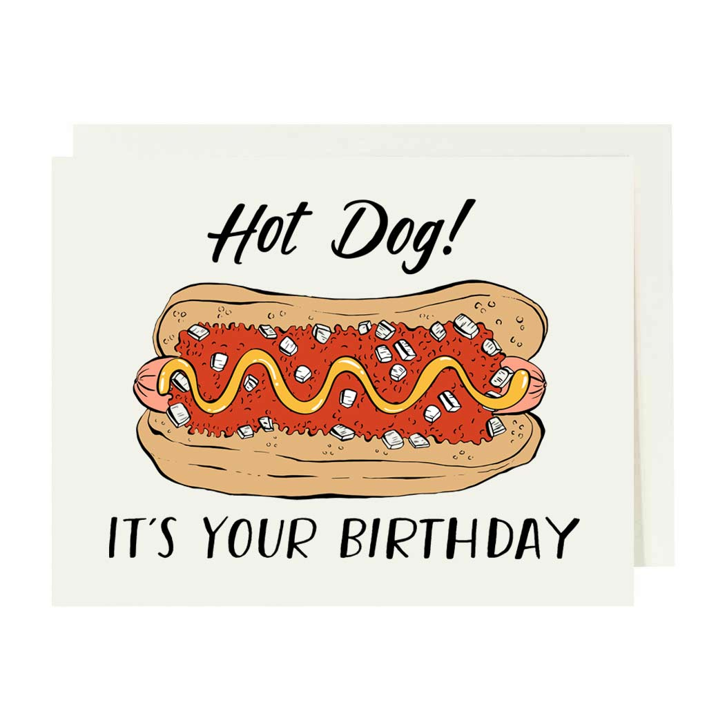 Hot Dog! It's Your Birthday Offset Card
