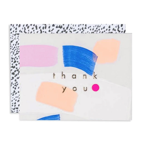 Huamei Thank You Card Boxed Set - City Bird