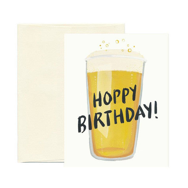 Hoppy Birthday Card - City Bird