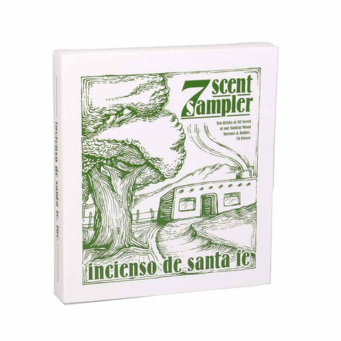 7 Scent Incense Sampler - City Bird