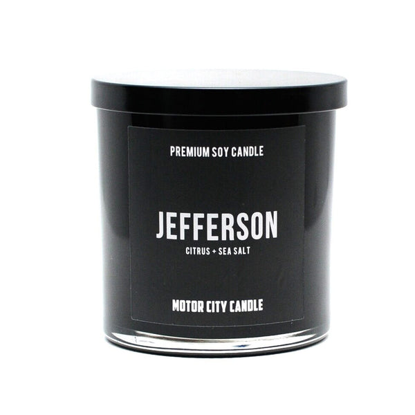 Detroit Streets Candle