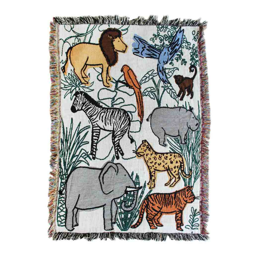 Into the Jungle Mini Tapestry - City Bird