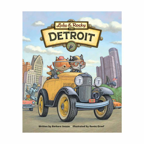 Lulu & Rocky in Detroit Book - City Bird