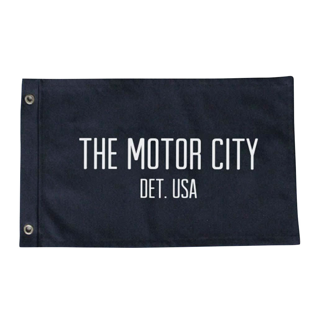 Large Motor City Flag - City Bird