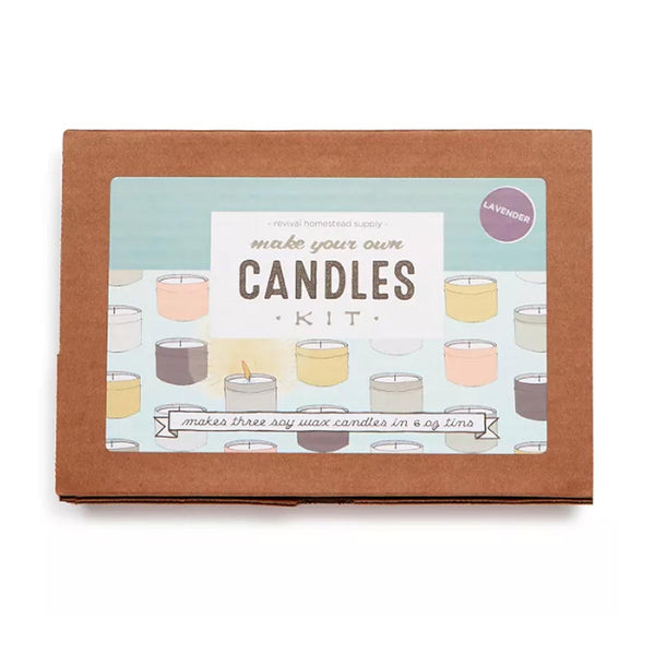 Soy Candle Kit - Scented Lavender