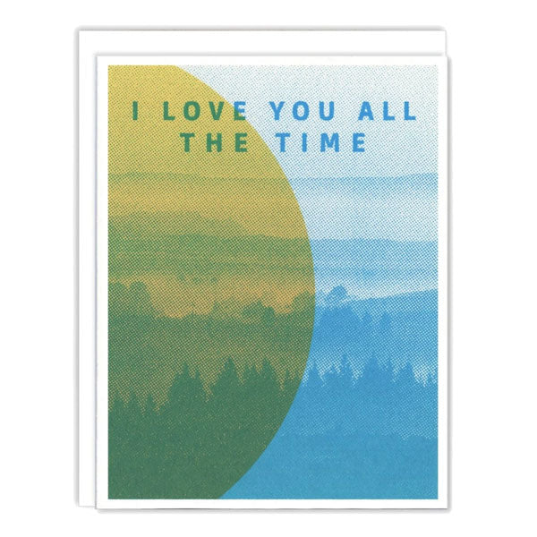 Love All The Time Card - City Bird