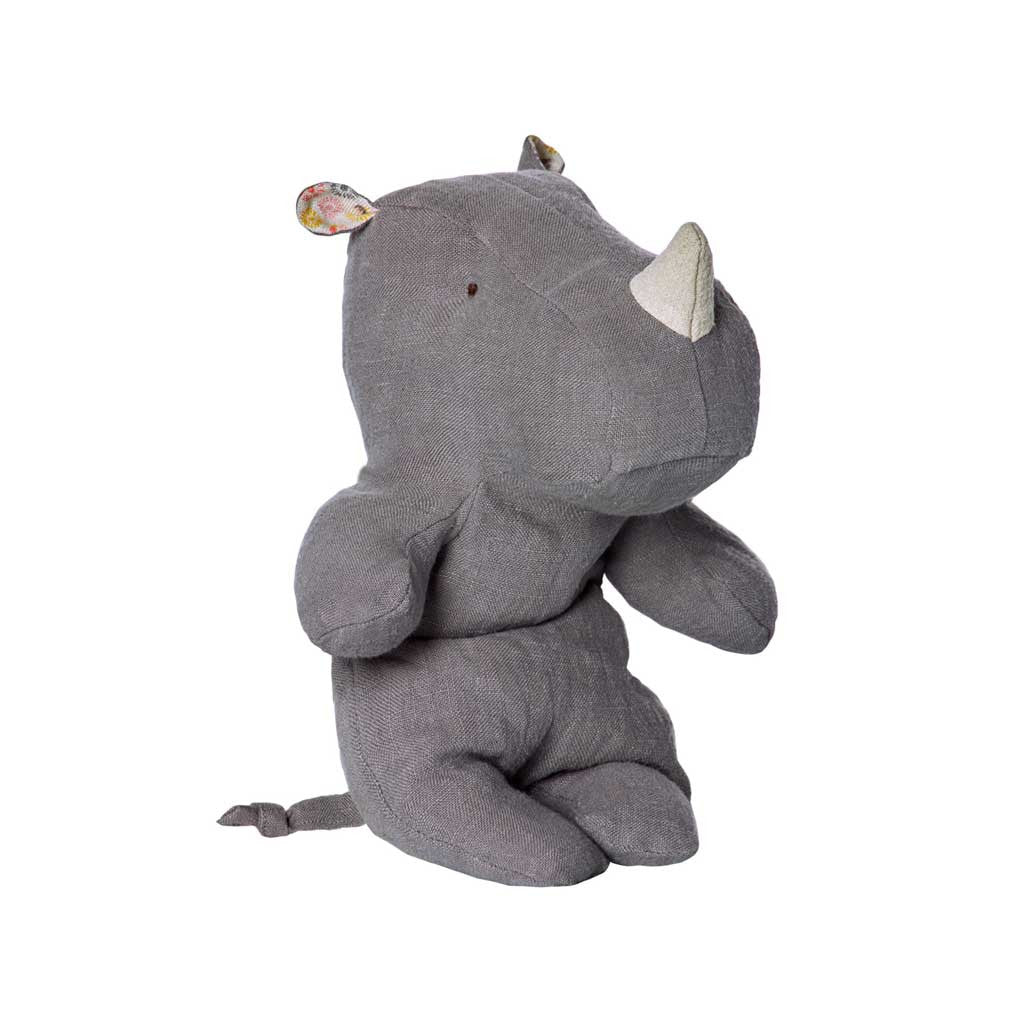 Rhino Gray Small Safari Friends - City Bird