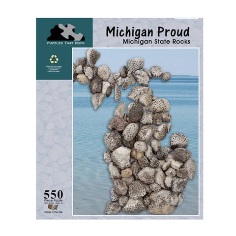 Michigan Proud Puzzle - City Bird