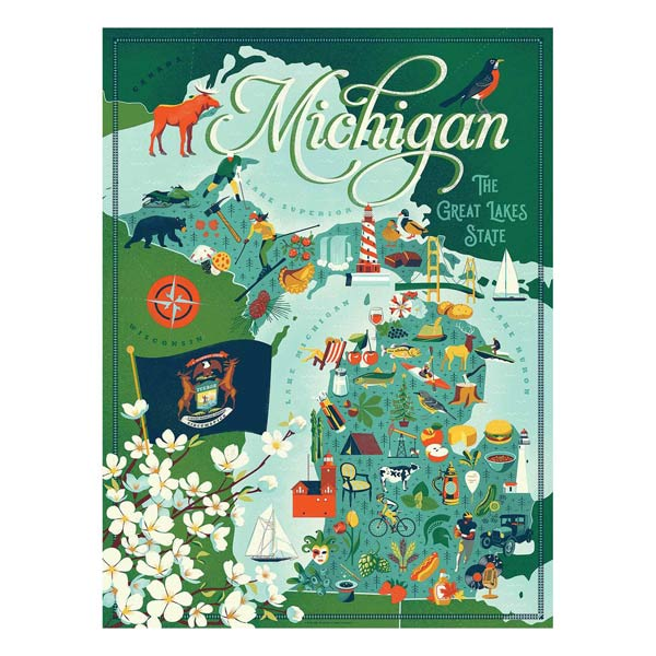 Michigan Puzzle - City Bird