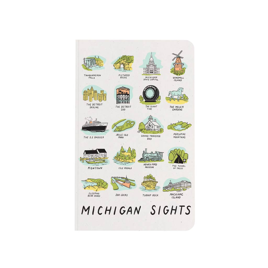 Michigan Sights Notebook