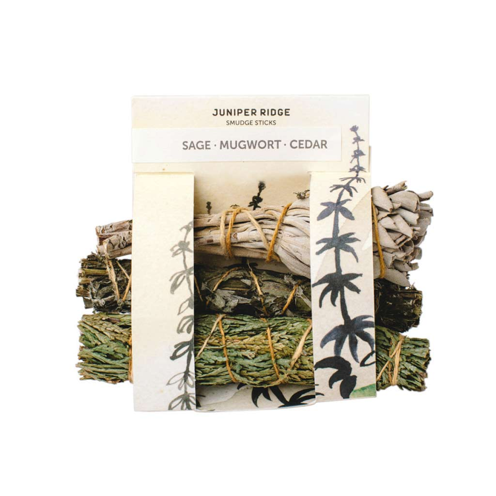 Smudge Stick Variety Pack - Sage, Mugwort, Cedar - City Bird